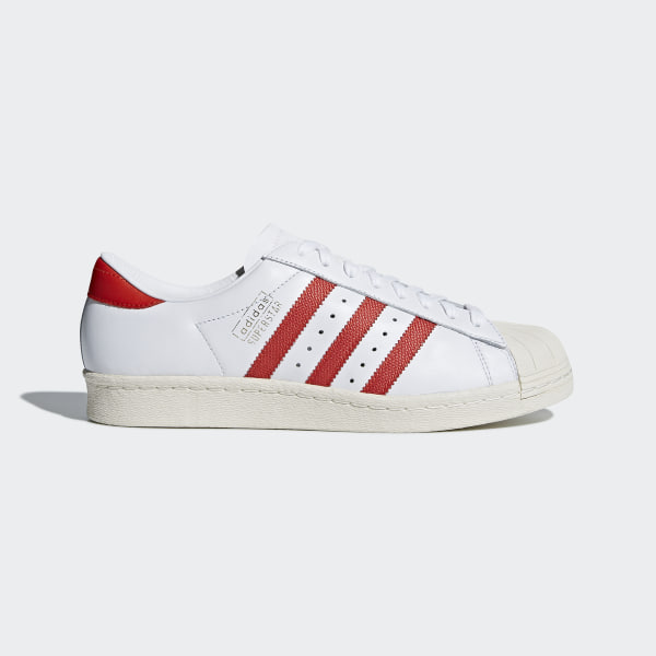 sale retailer 8a7f5 53b6a Superstar OG Shoes Cloud White   Core Red   Off White CQ2477