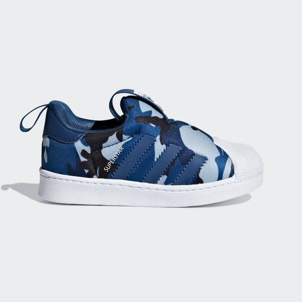 code promo faf9c b62dc adidas Superstar 360 Shoes - Blue | adidas UK