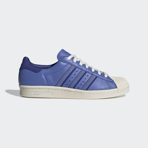 b2392db9a9e Superstar 80s Schoenen Real Lilac / Active Blue / Off White BD7367