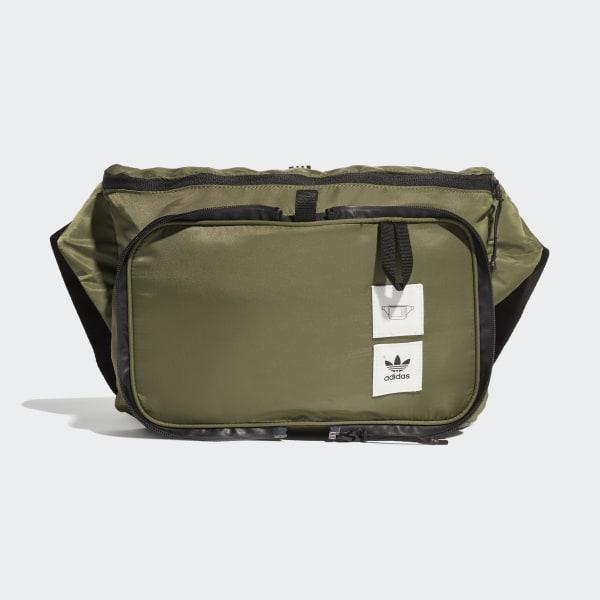 c250edbfa adidas Mochila cruzada plegable Packable - Café   adidas Mexico