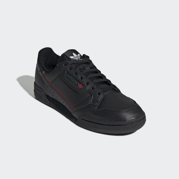 Adidas Continental 80 Core Black Scarlet Collegiate Green EE5343