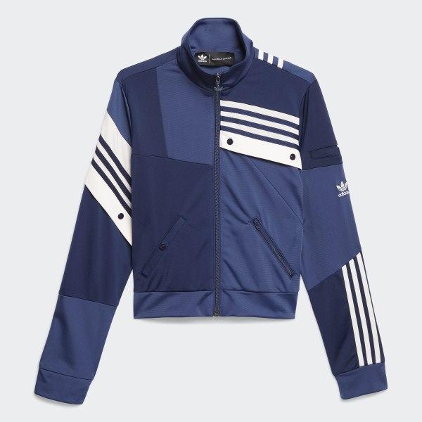 adidas Deconstructed Track Jacket Blue | adidas Australia