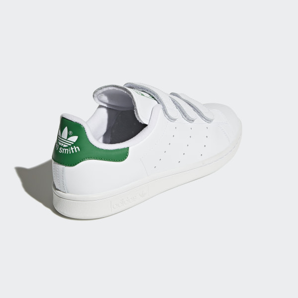 adidas originals stan smith s75187 baskets à bandes velcro