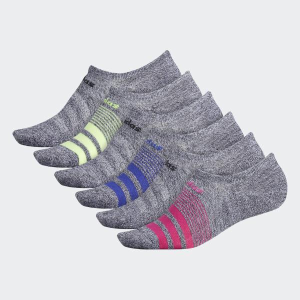 c9080567e1 adidas Superlite No-Show Socks 6 Pairs - Multicolor   adidas US