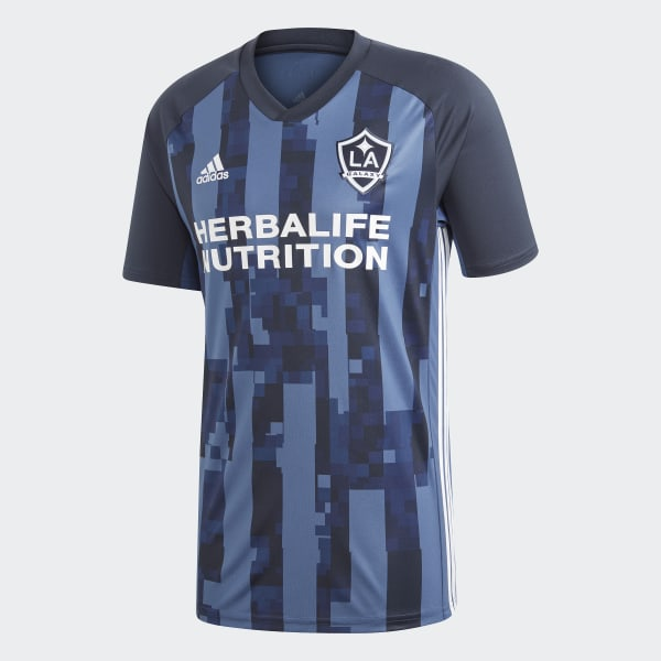 super popular 034bc 1bf1d adidas LA Galaxy Away Jersey - Blue | adidas Belgium