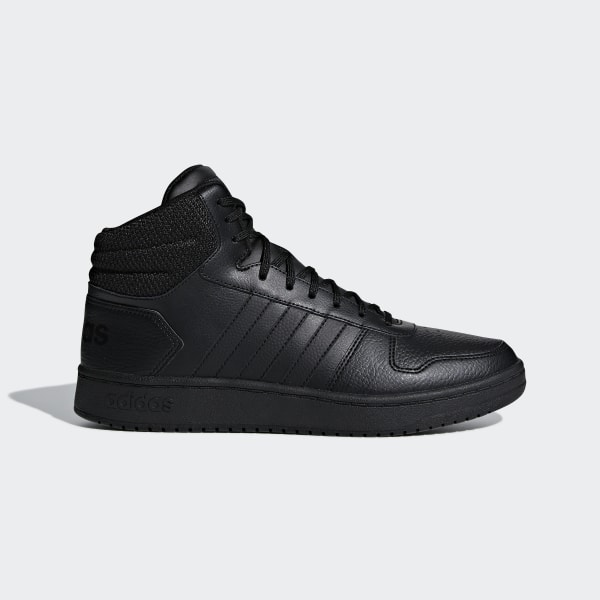 5437255bacc5c Hoops 2.0 Mid Shoes Core Black / Core Black / Core Black F34809