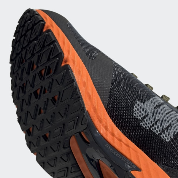 44dc805dce4 adidas x UNDEFEATED Adizero RC Shoes Black-White / Light Grey Heather /  Orange G26648