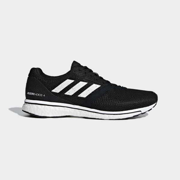 140893aa Кроссовки для бега Adizero Adios 4 core black / ftwr white / core black  B37312