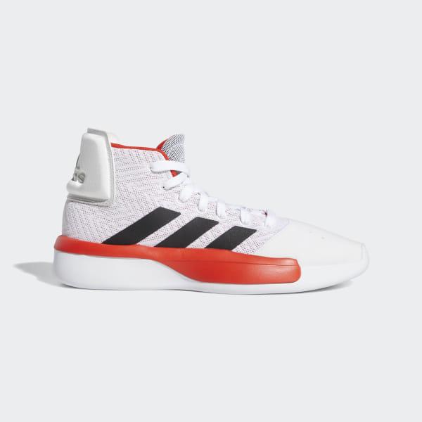 c1f0eb89 Баскетбольные кроссовки Pro Adversary 2019 ftwr white / active red / core  black BB9191