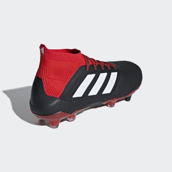 san francisco c9ea7 75ddd Predator 18.1 Firm Ground Boots Core Black   Ftwr White   Red DB2039