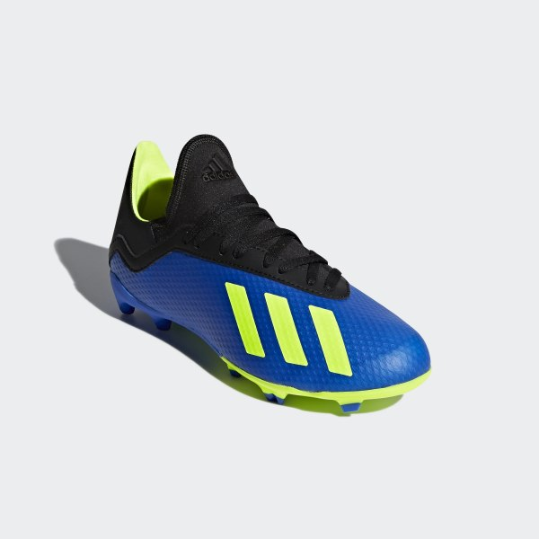 a4aedc8c4aa X 18.3 Firm Ground Boots Football Blue   Solar Yellow   Core Black DB2416