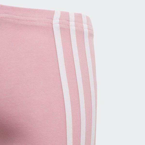 d460ec77c76075 3-Stripes Leggings Light Pink / White DV2852