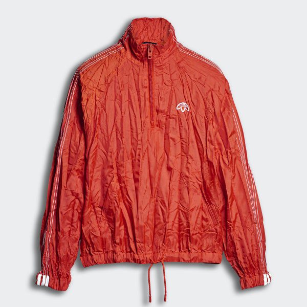 00ad0c3b adidas Originals by Alexander Wang Windbreaker Bold Orange / White CZ8323
