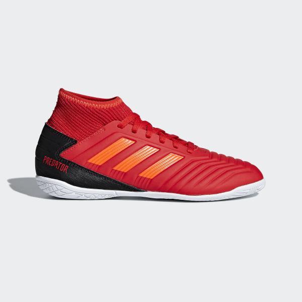 Chaussure Predator Tango 19.3 Indoor Rouge adidas | adidas France