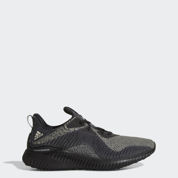 adidas Alphabounce Reflective HPC AMS Shoes Black | adidas US