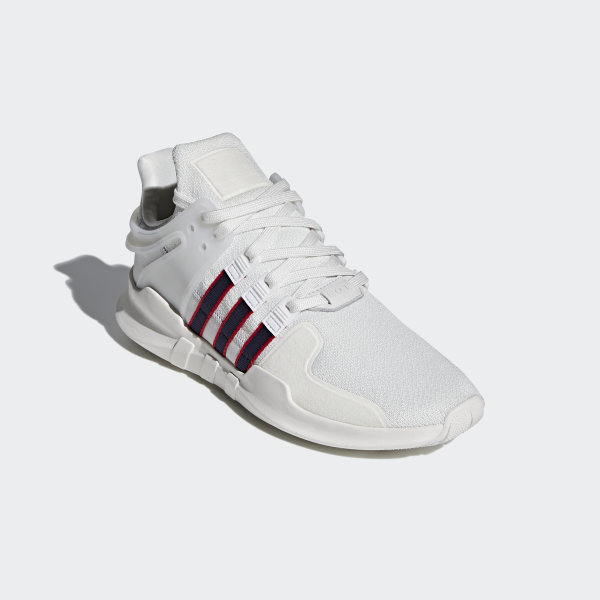 8b28d69ea1b38 Chaussure EQT Support ADV Crystal White / Collegiate Navy / Scarlet BB6778