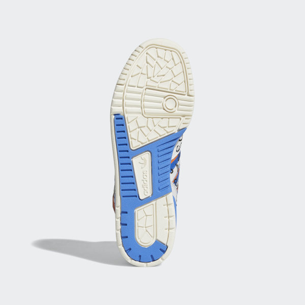 4d92c5dd Rivalry Hi Keith Haring Shoes Crystal White / Blue / Orange EE9296