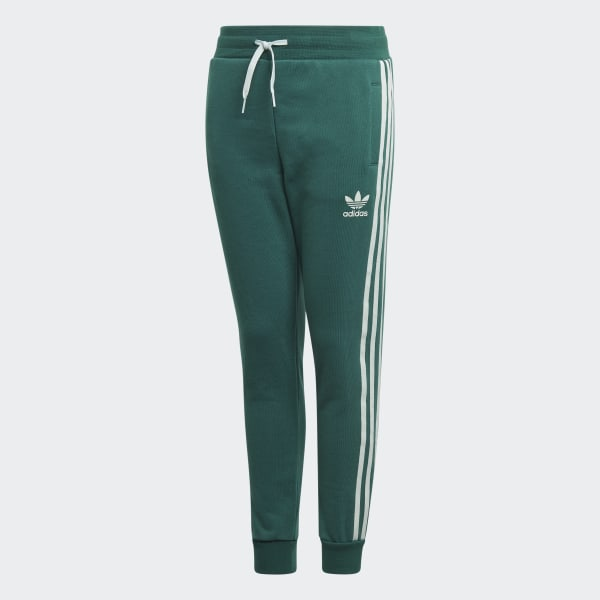 adidas Originals Girls' Velvet 3 Stripes Track Pants Junior