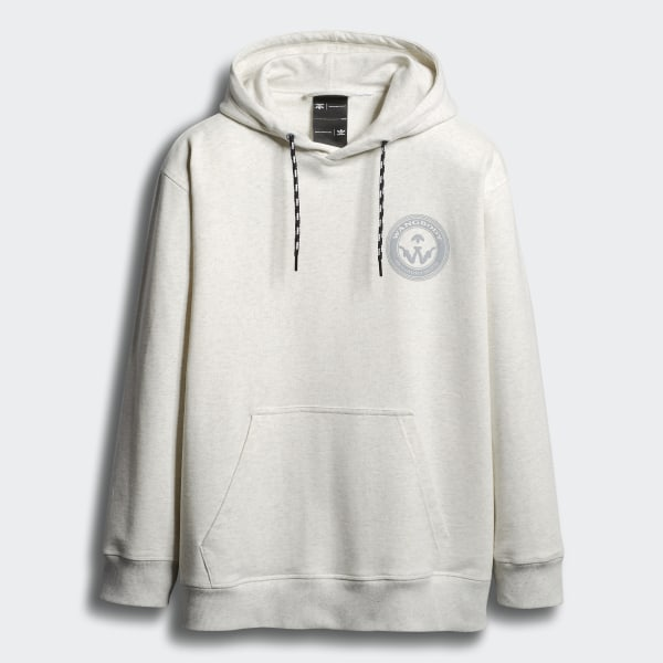 sneakers for cheap fb8f7 2ece0 adidas Originals by Alexander Wang Graphic Hoodie Colored Heather / White /  Bahia Pink ED1207