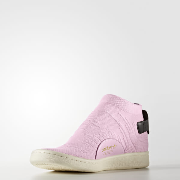 new style fac93 06506 adidas Stan Smith Shock Primeknit Shoes - Pink | adidas US