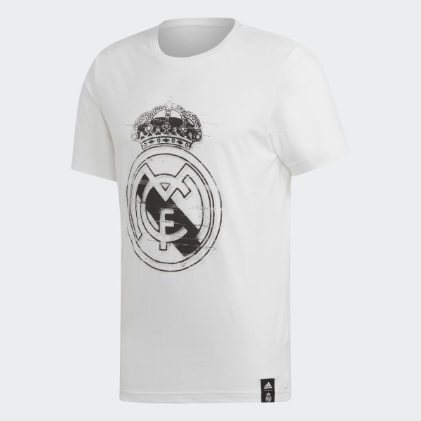 74bfd270d3 adidas Real Madrid DNA Graphic Tee - White   adidas US