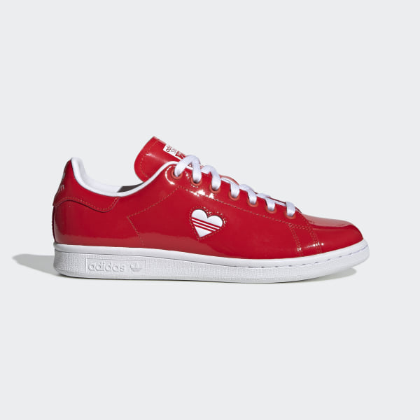 d8cfe9ca91 adidas Stan Smith Shoes - Red | adidas US