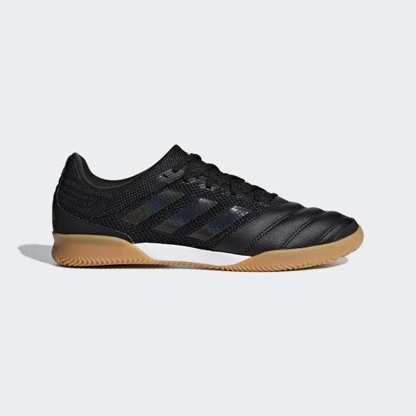 f06c631996745 Chuteira de Futsal Sala Copa 19.3 Core Black / Core Black / Grey Six D98066