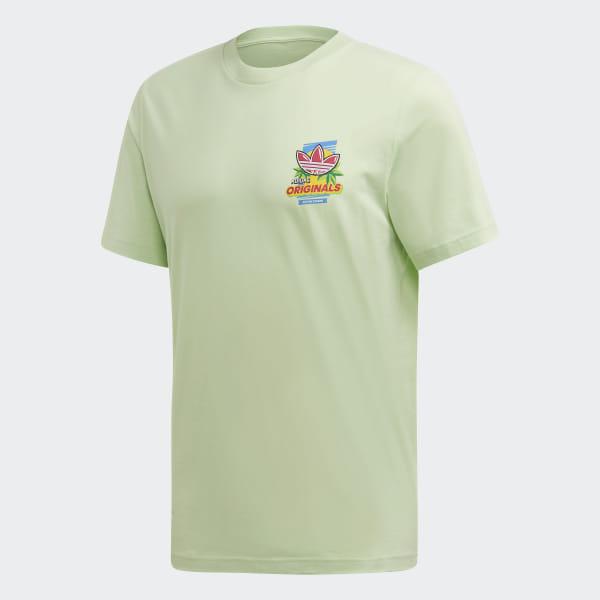a6407674a adidas Bodega Popsicle T-Shirt - Green | adidas Ireland