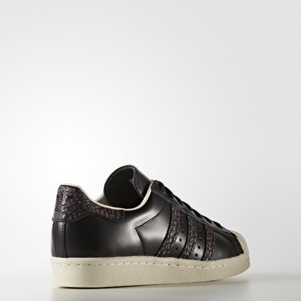 adidas Baskets Superstar 80s S75846 Core Black Craft Pink