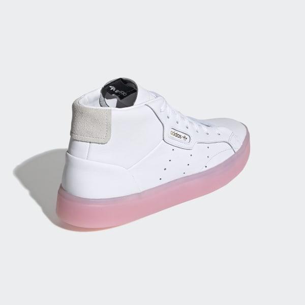 7f260a3d37 adidas Sleek Mid Shoes - White | adidas UK