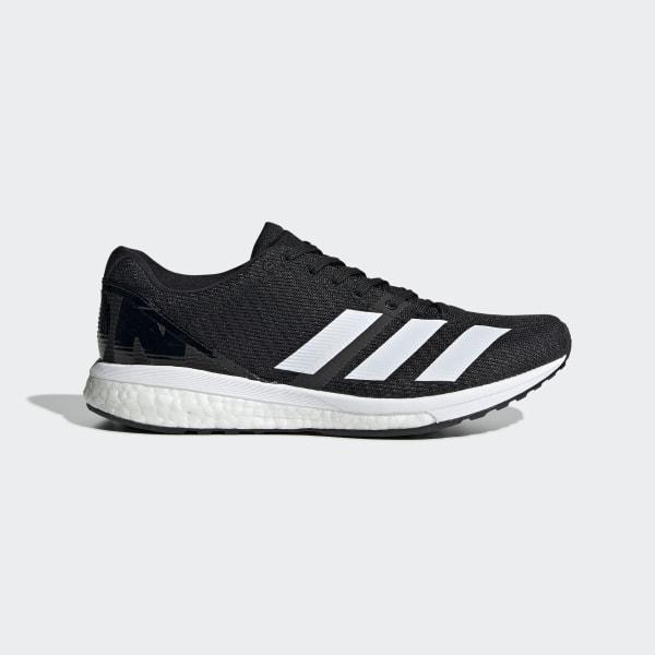 Adidas adizero Boston 6 Schuhe Grau Zwei Core Schwarz