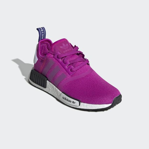 size 40 9bbe7 cfee0 NMD R1 Shoes Vivid Pink   Vivid Pink   Shock Pink BD8027