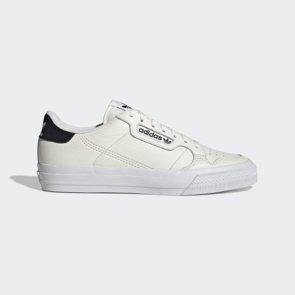 19366840fb adidas Continental Vulc Shoes - White   adidas UK