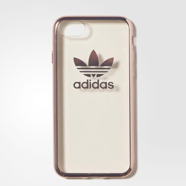 half off e10b9 28378 adidas Trefoil Clear Case iPhone 7 - Grey | adidas US