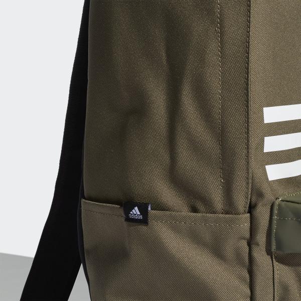 Mochila Classic Pocket 3 bandas Verde adidas | adidas España
