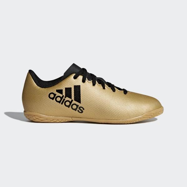 d5d23583d236d Botas de Fútbol X Tango 17.4 Bajo Techo TACTILE GOLD MET. F17/CORE BLACK