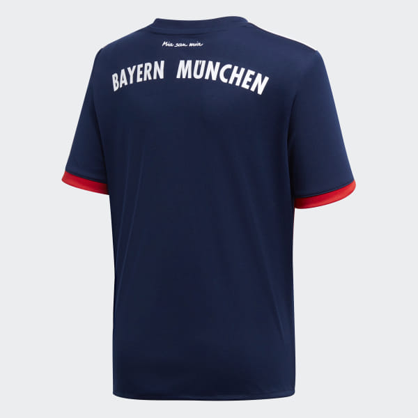 14837eb5095 FC Bayern Munich Away Jersey Collegiate Navy / Fcb True Red AZ7933