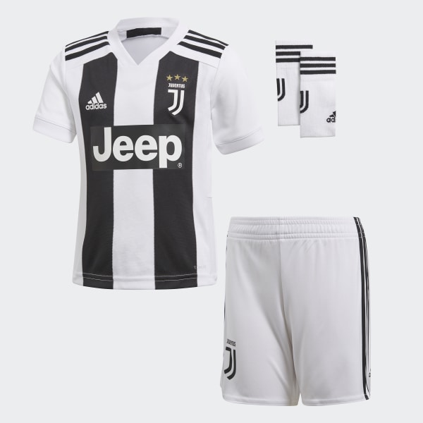 94f4a19b994 Juventus Home Mini Kit White   Black CF3495