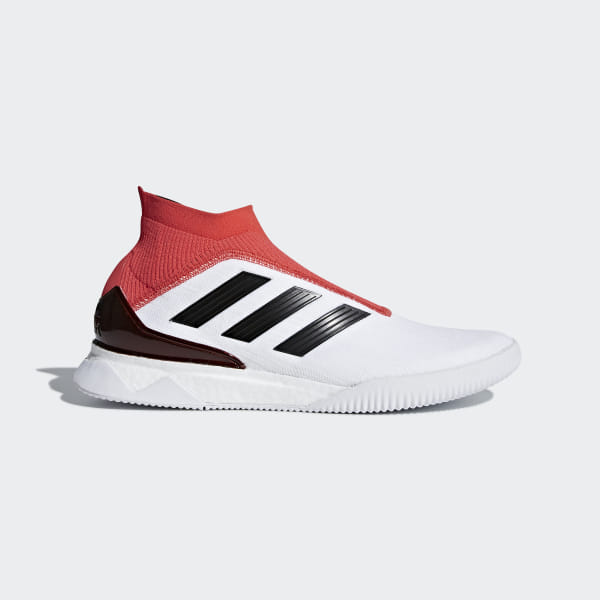 low priced 22a12 c3a87 Predator Tango 18+ Trainers Ftwr White / Core Black / Real Coral CM7686