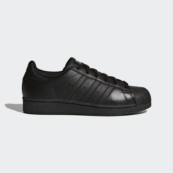 Details about Adidas Originals Kids Superstar Foundation Shoes Trainers Black (B25724)