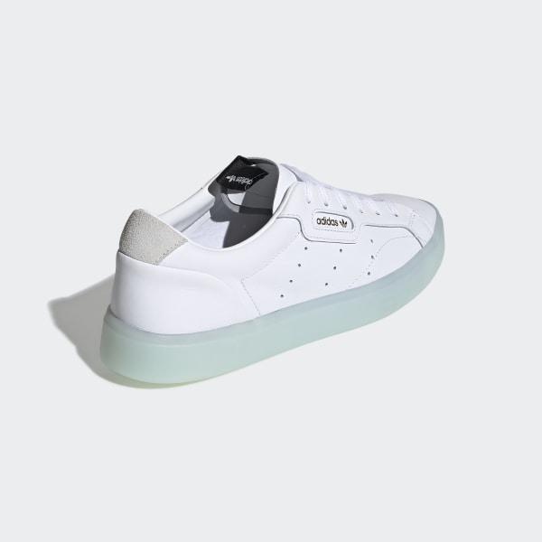 bb574ceb adidas Sleek Shoes Cloud White / Cloud White / Ice Mint G27342