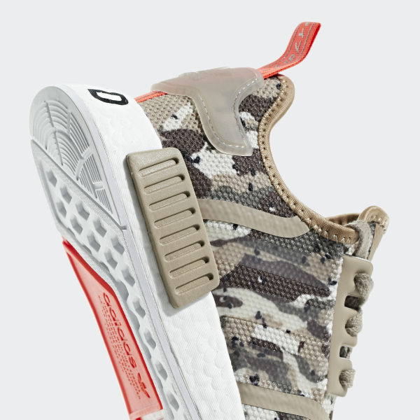 60b10e91b7a NMD_R1 Shoes Clear Brown / Clear Brown / Solar Red G27948