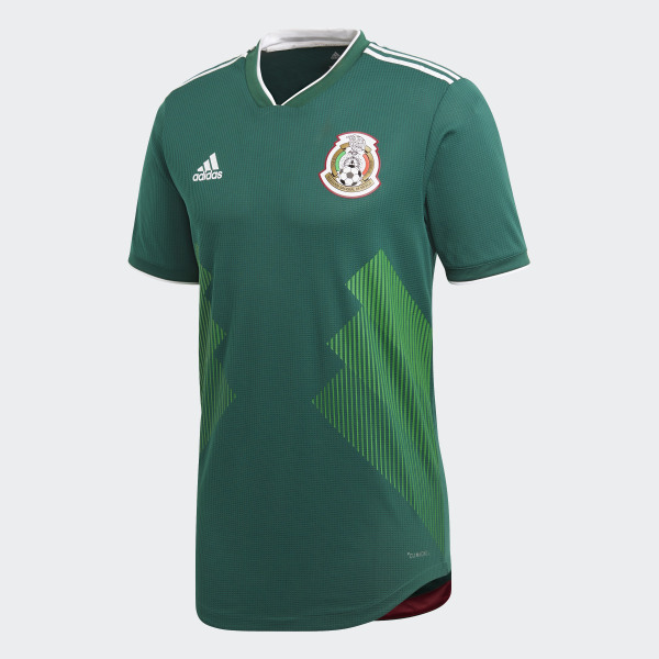a1b18daa217 Mexico Home Authentic Jersey Collegiate Green   White BQ4703