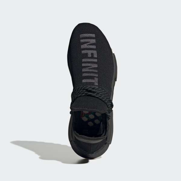 on sale 3a678 9f9bb adidas Pharrell Williams Hu NMD Proud Shoes - Black | adidas UK