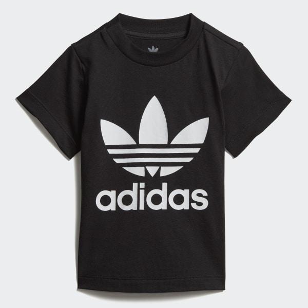 T shirt Trefoil Noir adidas   adidas France