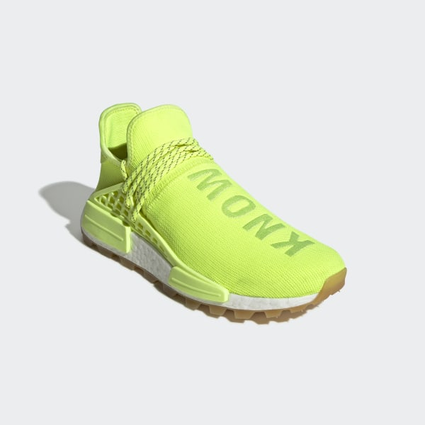 wholesale dealer 64922 c45d0 adidas Pharrell Williams Hu NMD Shoes - Yellow | adidas US