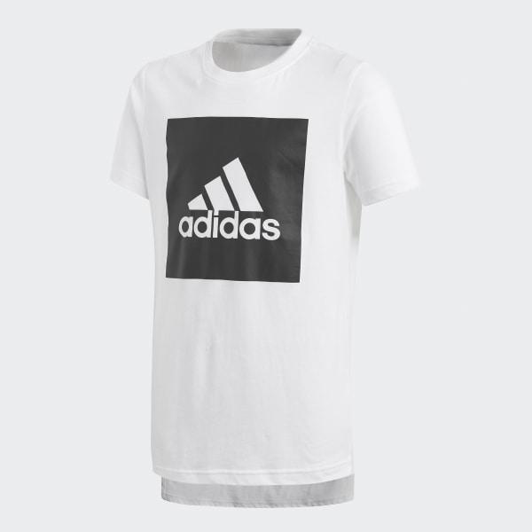 8ec23c4099e4 Polera Essentials Logo - Blanco adidas | adidas Chile