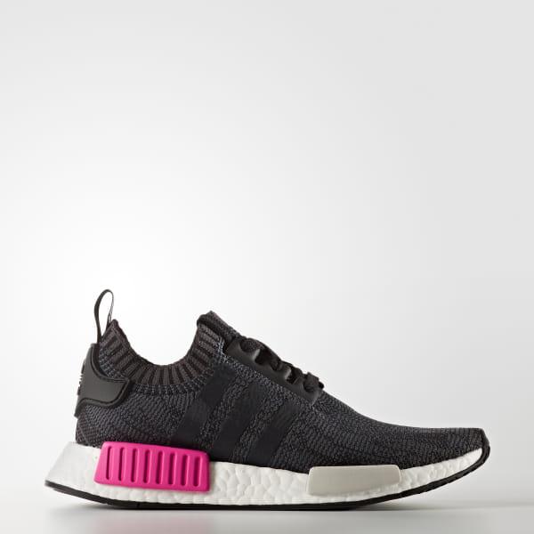 buy online ea6ec 7f689 NMD R1 Shoes Core Black   Core Black   Shock Pink BB2364