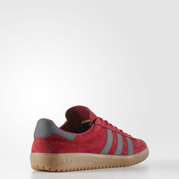 adidas Originals Bermuda Suede Sneakers In Red BY 9653