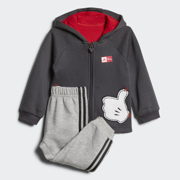 2d9d8cff3 Conjunto Jogger Disney Mickey Mouse UTILITY BLACK F16 SCARLET  MEDIUM GREY  HEATHER BLACK